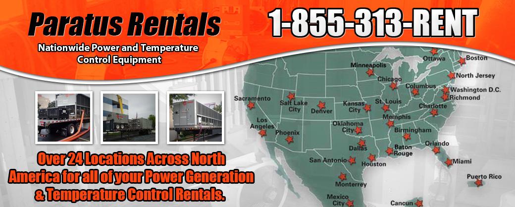 Power & Temperature Control Rentals Nationwide