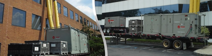 Wisconsin Rooftop Air Conditioner Rentals - 25-ton, 35-ton and 50-ton